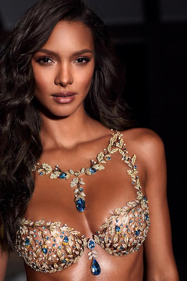 <p>Ribeiro has been chosen to wear the $2 million Mouwad Victoria's Secret Fantasy Bra at this year's catwalk extravaganza in Shanghai. <em>[Photo: Victoria's Secret]</em> </p>