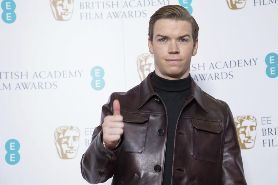 Actor Will Poulter poses for photographers following the BAFTA Film Awards nominations announcement in London, Wednesday, Jan. 9, 2019. (Photo by Vianney Le Caer/Invision/AP)