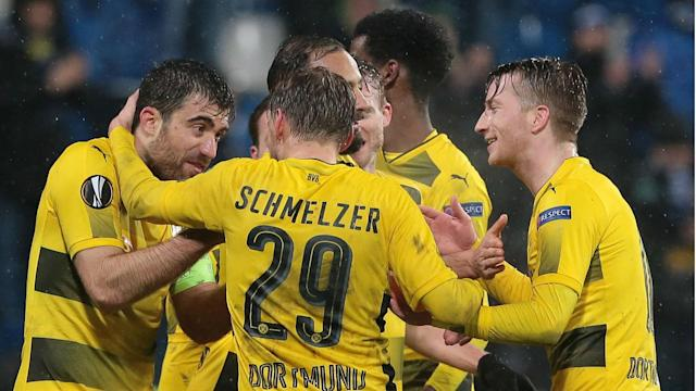 The Bundesliga side's head coach counted his blessings following Thursday's dramatic draw in Italy