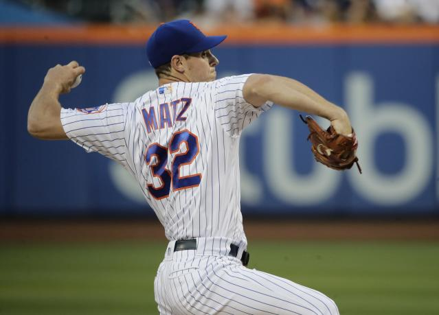 Steven Matz will undergo surgery to correct a nerve issue in his pitching arm. (AP Photo/Frank Franklin II)