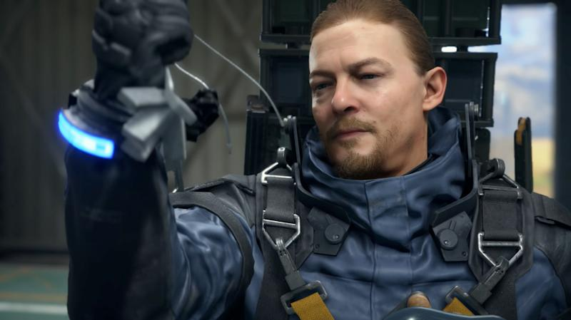 Norman Reedus in Death Stranding for PlayStation 4