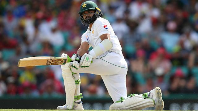West Indies endured a miserable second day against Pakistan, before three late wickets provided a much-needed boost for the hosts.