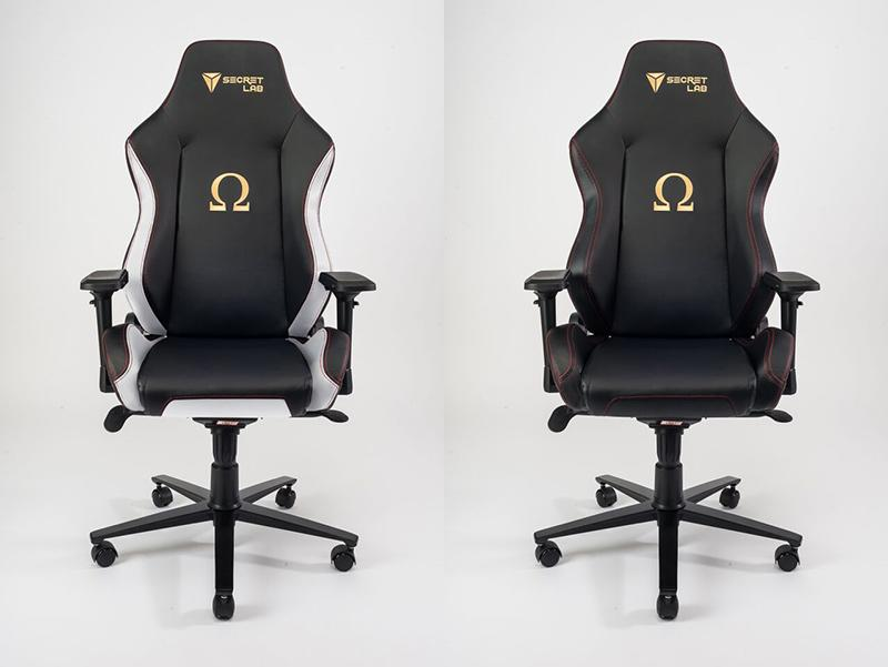 The Omega comes in two versions, Classic and Stealth. (Image Source: Secretlab)
