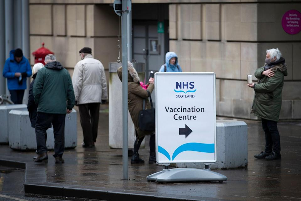 <p>Only 32 people were admitted to hospital three weeks after the vaccine, a study has found</p> (PA)