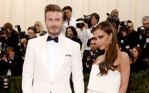 David and Victoria Beckham  - Credit: Dimitrios Kambouris/Getty Images