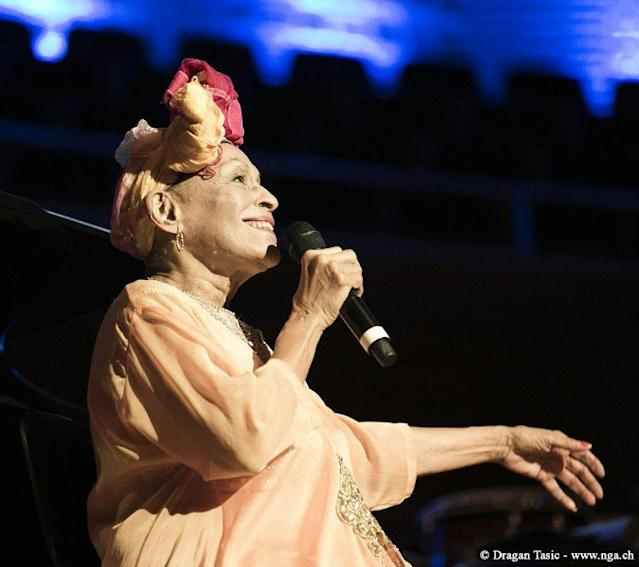 Omara Portuondo (vocals) performs (Photo: Dragan Tasic / Broad Green Picture)