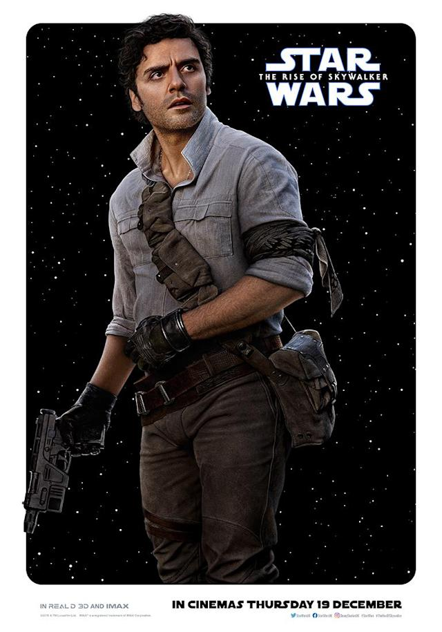 Oscar Isaac's pilot is taking a leading role in the Resistance following the events of <em>The Last Jedi</em>. (Disney)