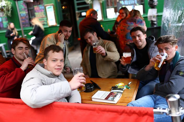 <p>Indoor drinking will be allowed from 17 May as England's lockdown eases</p> (REUTERS)