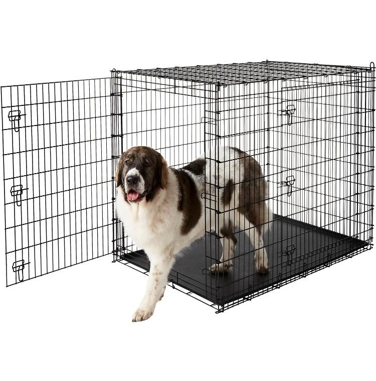Frisco XX-Large Heavy Duty Double Door Dog Crate. (Photo: Chewy)