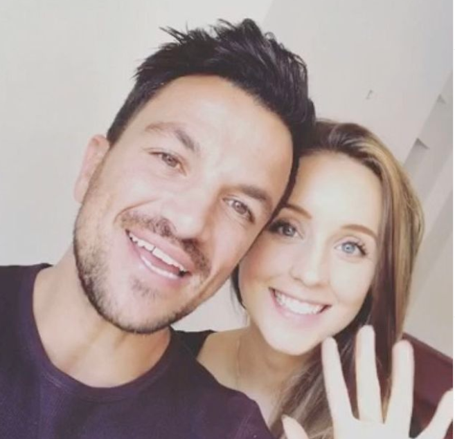 Peter Andre and Emily Andre