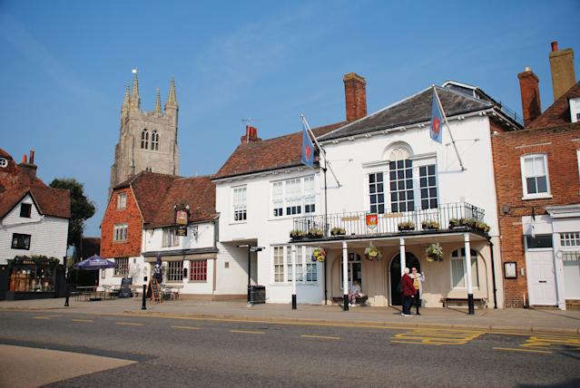 The wardens were issuing tickets on a high street in Tenterden, Kent. (Getty/file photo)