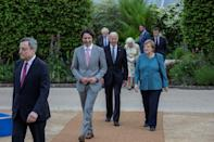 Reception at The Eden Project on the sidelines of the G7 summit in Cornwall