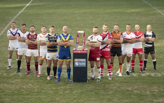 The Super League is set to resume on August 2 (Danny Lawson/PA).
