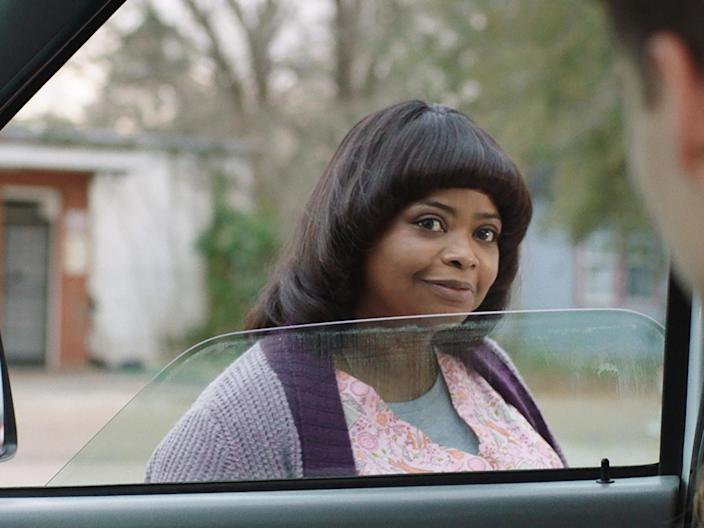 "Dir: Tate Taylor; Starring: Octavia Spencer, Diana Silvers, Allison Janney, Luke Evans, Missi Pyle, Juliette Lewis, McKaley Miller. Cert 15, 99 minsOctavia Spencer is cast against type in this enjoyably creepy revenge thriller. The Oscar-winning star of The Help and Hidden Figures has an instantly likeable quality on screen. She tends to play decent and resilient women. That is what makes her such an unsettling presence here as Sue Ann – or ""Ma"" as she is nicknamed by the high school students she befriends. With her beaming smile, she seems as friendly and level headed as ever. The longer the film lasts, though, the more menacing and deranged she becomes.Ma is set in nondescript small town America. A mother, Erica (Juliette Lewis), and her teenage daughter Maggie (Diana Silvers, also currently on screen in Booksmart), have arrived here. Erica is coming home after the break-up of her marriage. She lands a job as a waitress in the local casino. Maggie enrols at the local high school. She knows no-one but is quickly accepted by the in-crowd. With very little to do, Maggie's new friends like to drive around town in one of their father's vans, getting drunk. They're too young to buy booze themselves but ask adults to do so on their behalf. That is how they first encounter Sue Ann, the browbeaten assistant to the local vet (Spencer's fellow Oscar-winner Allison Janney in a cameo). Sue Ann not only procures the alcohol for the teenagers but invites them to ""hang out"" in her basement.Director Tate Taylor (who also worked with Spencer in The Help) takes his time in cranking up the tension. We've seen horrormeister Jason Blum's name on the opening credits and so we are fully expecting something very nasty will happen soon – but it takes its time. Early on, the most shocking sight is the middle-aged woman, disco dancing to the strains of ""everybody was kung fu fighting"" as if she is still 17. Sue Ann's attempts at ingratiating herself with the high school students are grotesque. She follows their social media feeds avidly and texts them constantly. The film plays on the clash between generations in the same way as recent Greek midlife crisis satire Suntan, about a paunchy middle-aged doctor desperately following around a group of much younger tourists. There are also echoes of Neil Jordan's recent thriller Greta, in which Isabelle Huppert played the demented older woman preying on young adults. At first, Maggie and her friends are intrigued by Sue Ann, but their discomfort and sense of social embarrassment mount as the older woman becomes more and more intrusive.Parts of the screenplay (by Taylor and Scotty Landes) don't quite add up. There are too many coincidences and non-sequiturs. The kids clearly first encounter Sue Ann by chance and yet the film suggests that she engineered the meeting. Parts of Sue Ann's back story are skimmed over. She has a teenage daughter but we don't learn about the father or why this daughter is so sickly.There are clumsy flashbacks to Sue Ann as a teenager, when she attended the same school that the kids are at now. She was bookish and naive. The other students took advantage of her, playing a cruel sexual prank on her. She hasn't forgotten her humiliation. Years later, she is still plotting revenge. The one element the film doesn't mention directly, but that is always there lurking in the background, is race. Sue Ann was a black kid in a predominantly white school. That may have been why she was victimised. The wealthy white kids who tormented her then are the parents of the high school students she has befriended.Ma features an unusual number of broken families. Either spouses have divorced or lost their loved ones to cancer. Bringing some brassy humour to the film is Missi Pyle who plays Mercedes, the cruellest and most obnoxious of Sue Ann's old classmates and now the drunken girlfriend of Ben Hawkins (Luke Evans), the schoolmate Sue Ann once had the biggest crush on. The subtlety of Octavia Spencer's performance is belied by the crudity of much of the plotting. Director Taylor makes sure we know that Sue Ann's job as the vet's assistant gives her easy access to drugs and syringes. We see her administering Diazepam-like substances to so many mangey old dogs and cats that we can guess it is only a matter of time that she starts using the same medicine on humans as well.Early on, Sue Ann is as pathetic as she is sinister. Her needy, clinging behaviour is shown as being a direct consequence of the traumas she endured as a kid. The students who start partying in her basement are selfish and obnoxious. They are taking advantage of her just as she is using them. However, a film that starts as a psychological thriller eventually turns into a full blown and very bloody horror movie. Perhaps in a nod to Nagisa Oshima's In the Realm of The Senses, it even has a scene in which one unfortunate character comes close to being emasculated. The slasher tactics and scenes of torture and mutilation can't help but feel perfunctory. These moments may make audiences grimace and advert their eyes but they are far less uncomfortable to watch than Sue Ann on her charm offensive. Ma is at its most unsettling when its middle aged anti-heroine is trying so hard and in such a forlorn way to insert herself into the lives of the high school kids who so obviously despise her."
