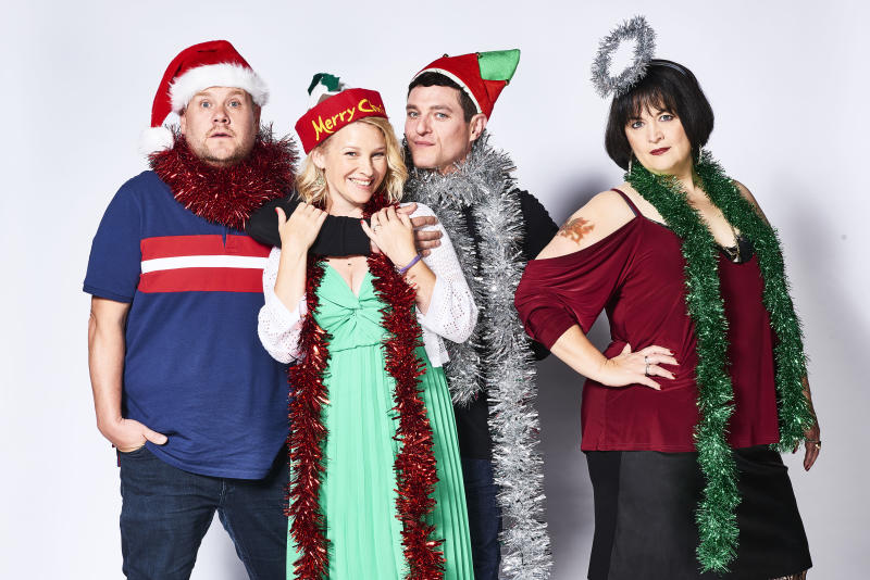 Gavin and Stacey is returning on Christmas Day. (BBC/GS TV Productions Ltd/Tom Jackson)