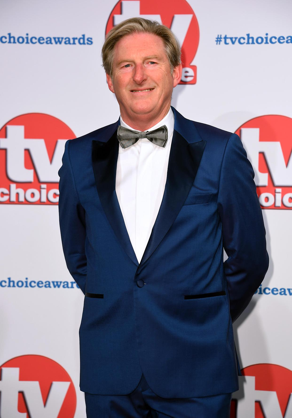 Adrian Dunbar attending the TV Choice Awards held at the Hilton Hotel, Park Lane, London. (Photo by Matt Crossick/PA Images via Getty Images)