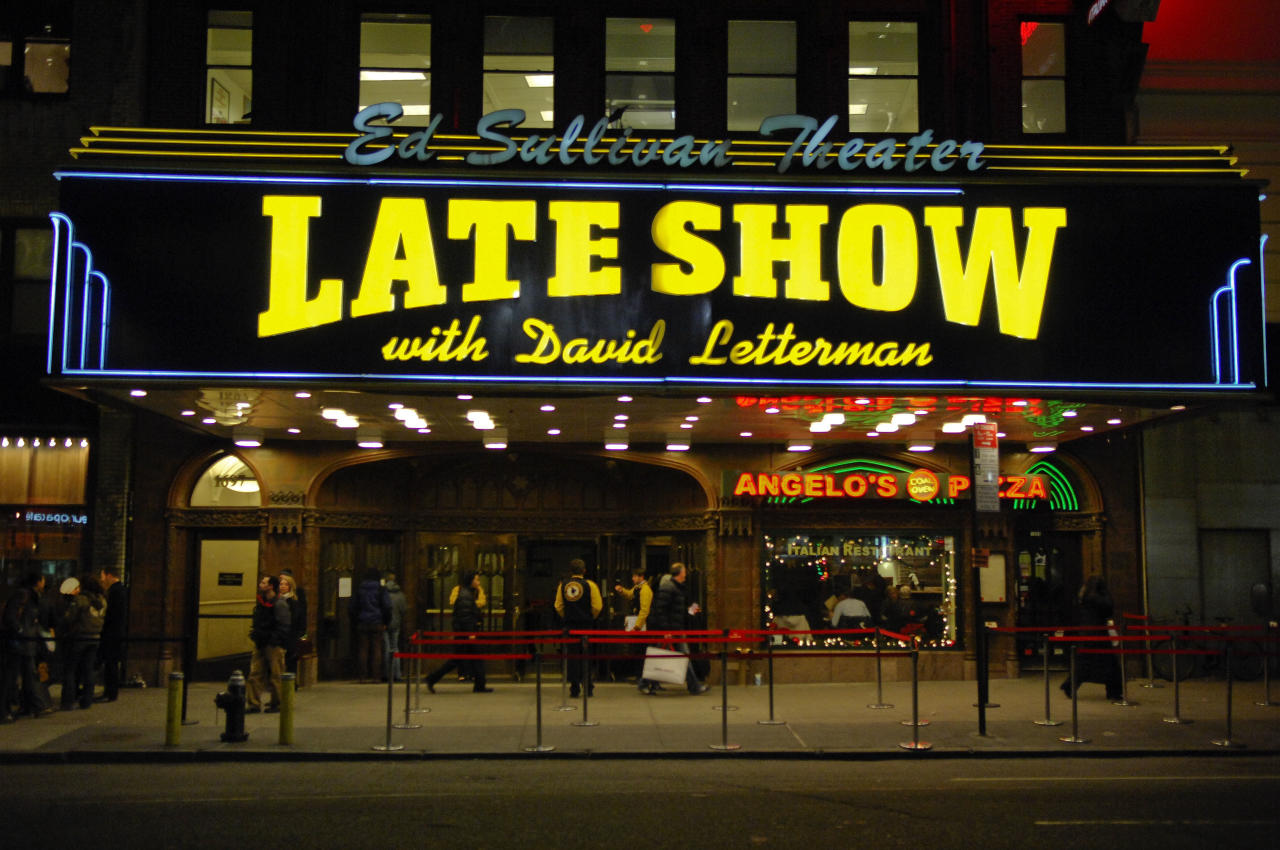 A writer/producer for David Letterman's 'Late Show' tells his story.