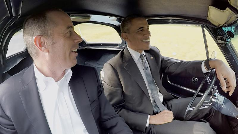 Comedians in Cars Getting Coffee Seinfeld and Barack Obama