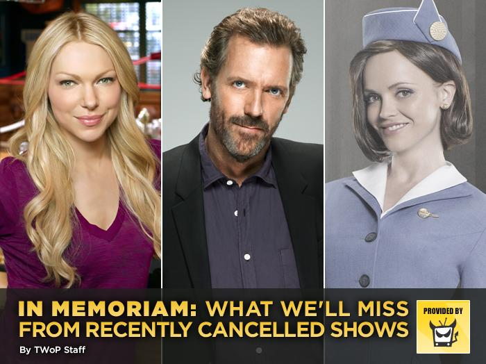 A ton of shows were cancelled this season, many of which deserved to go. We may not have shed tears over the programs themselves, but they did have quite a few things we are going to miss.