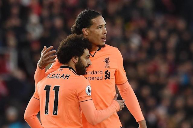 Southampton 0 Liverpool 2: Roberto Firmino and Mohamed Salah fire Reds back into third
