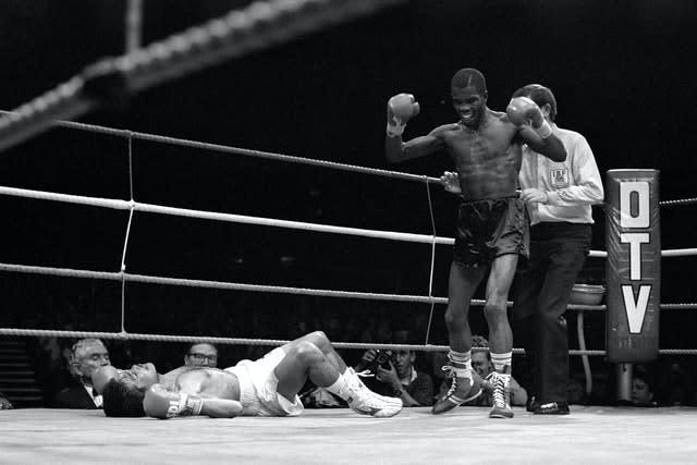 McKenzie's first world title came with victory over Rolando Bohol in 1988 (David Giles/PA).