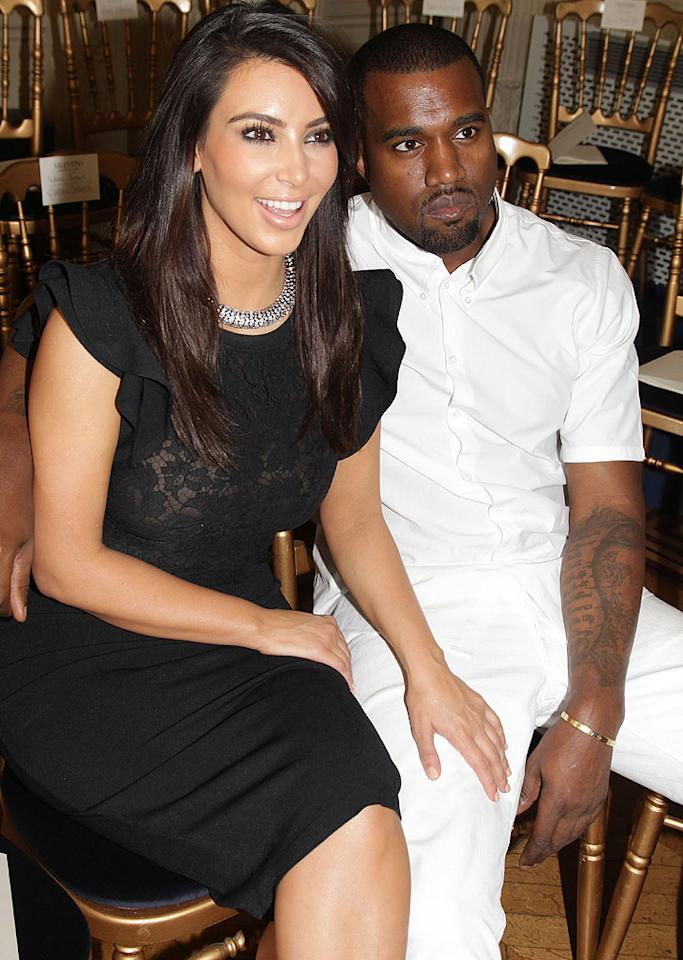 "<p class=""MsoNormal"">After Kim Kardashian infamously decided to split from her husband of just 72 days, NBA player Kris Humphries, in October 2011, we hoped that the reality star would lay low for a while. No such luck. Instead, the 31-year-old Kardashian began dating her longtime flirty friend and controversial rapper Kanye West. The two confirmed their relationship when they stepped out holding hands in April, although there had already been rumors sparked by West's lyrics about falling in love with Kim on his song ""Theraflu."" Four months later, he's written a new track about her called ""Perfect B----"" – isn't that romantic? – and appeared on her show ""Keeping Up With the Kardashians."" She's even sported ""KW"" earrings in honor of her guy. Most importantly, Kardashian has already been with West much longer than 72 days, a mark they passed in early July.</p>"