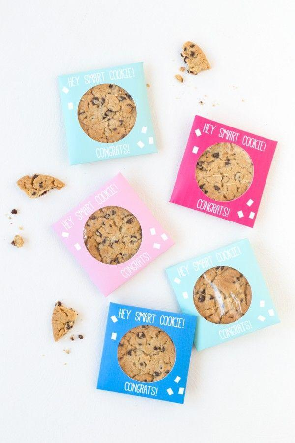 "<p>After such a fun night, your guests should go home with something sweet…like these cookie party favors! You can celebrate the graduate who is one ""smart cookie."" </p><p><strong>Get the tutorial at <a href=""https://studiodiy.com/diy-smart-cookie-graduation-party-favors/"" rel=""nofollow noopener"" target=""_blank"" data-ylk=""slk:Studio DIY"" class=""link rapid-noclick-resp"">Studio DIY</a>.</strong></p><p><a class=""link rapid-noclick-resp"" href=""https://go.redirectingat.com?id=74968X1596630&url=https%3A%2F%2Fwww.walmart.com%2Fip%2FAstrobrights-Bright-White-Cardstock-8-5-x-11-65-lb-80-Sheets%2F45373339&sref=https%3A%2F%2Fwww.thepioneerwoman.com%2Fhome-lifestyle%2Fentertaining%2Fg36014713%2Fgraduation-party-ideas%2F"" rel=""nofollow noopener"" target=""_blank"" data-ylk=""slk:SHOP WHITE CARD STOCK"">SHOP WHITE CARD STOCK</a></p>"