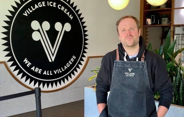 Billy Friley is the founder of Village Ice Cream. He recently opened the company's fourth store in Bridgeland.