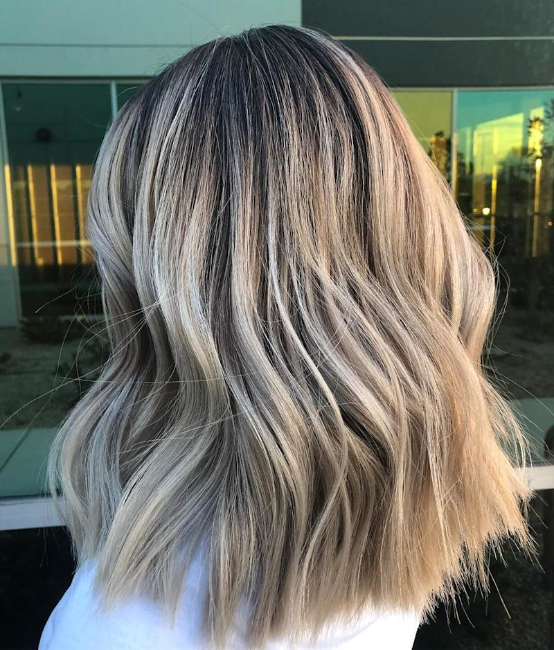 The Smoked Marshmallow Hair Color Trend Is 2019 S Low Maintenance