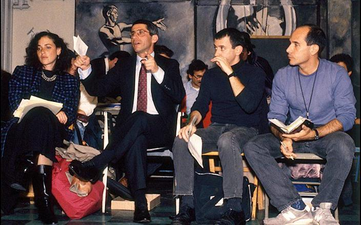 Meeting with Aids activists, 1989 - Tracey Litt Photography