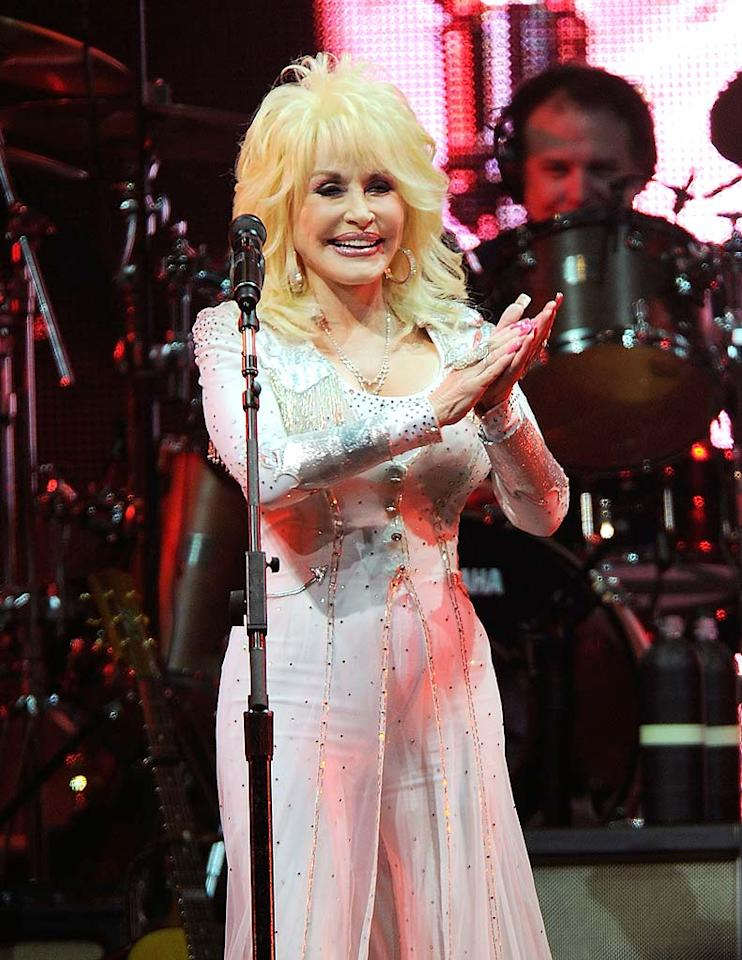 "January 19: Dolly Parton turns 65 Frederick Breedon/<a href=""http://www.gettyimages.com/"" target=""new"">GettyImages.com</a> - October 5, 2010"