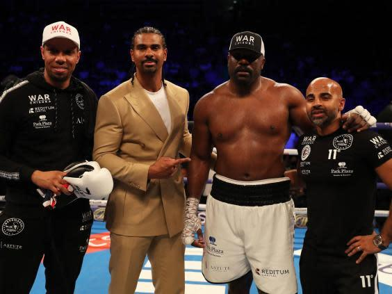 Haye has managed Chisora since October 2018 (Getty)
