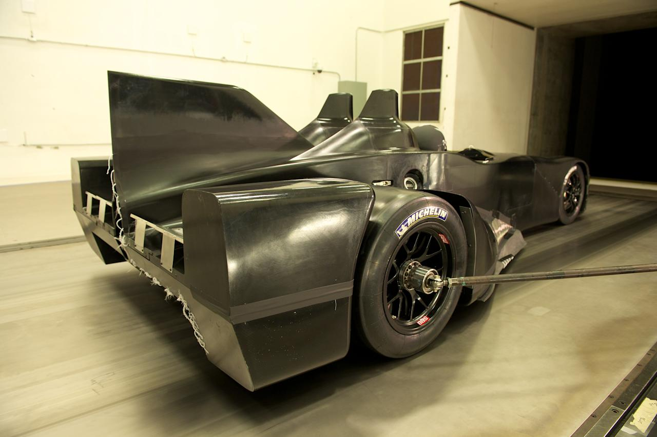 Built by a consortium of racing firms and suppliers headed by designer Ben Bowlby and endurance racing backer Don Panos, the DeltaWing was created as a possible alternative to IndyCars. When Indy racing decided to stick with a more traditional design, the DeltaWing's backers looked for other opportunities to prove their concept.