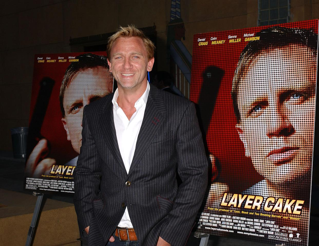 Daniel Craig at the The Egypitan Theatre in Hollywood, California (Photo by Albert L. Ortega/WireImage)