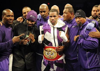 Lamont Peterson will be featured on NBC's Premier Boxing Champions series. (AP)