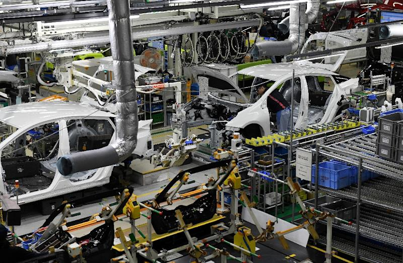 Passenger cars make up around 30 percent of Japan's total exports to the United States and Tokyo has already threatened Washington with retaliation at the WTO for the steel tariffs (AFP Photo/Toshifumi KITAMURA)