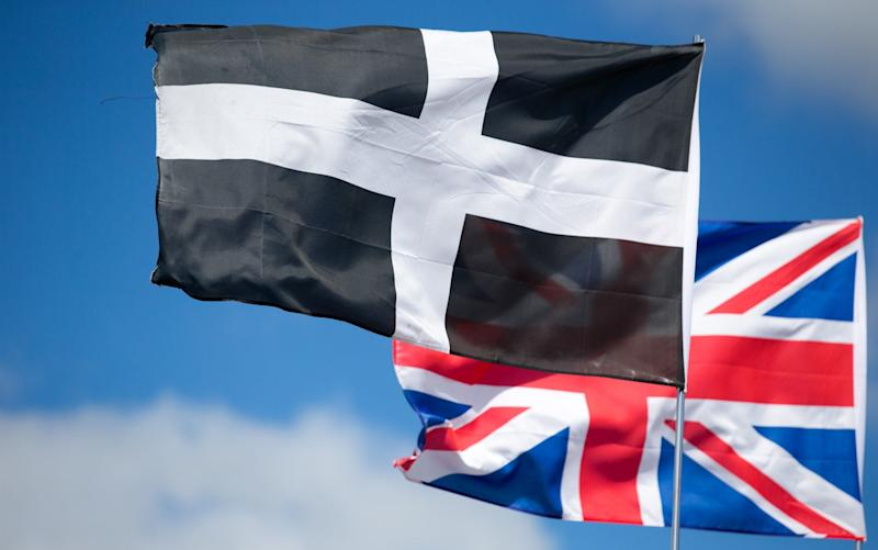 European Union flag on driving licences and number plates could be replaced with a Cornish flag - Getty Images Europe