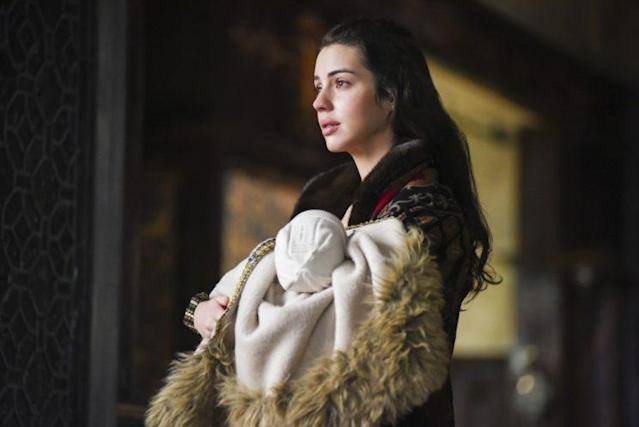 Adelaide Kane as Mary, Queen of Scots (Photo: John Medland /The CW)