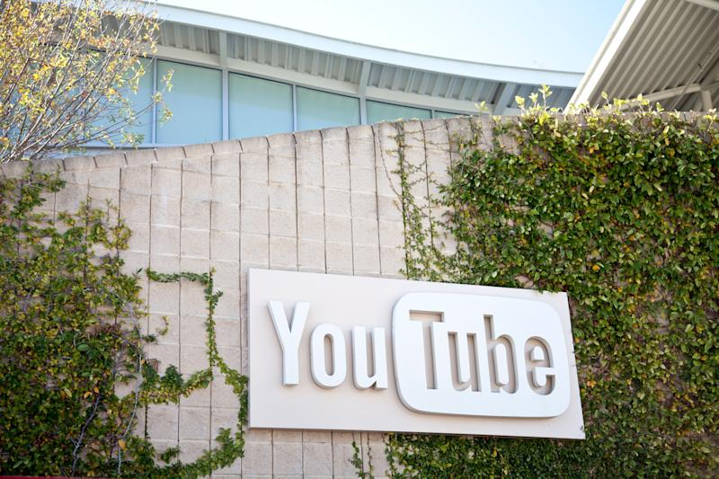 San Bruno, California, USA - January 11, 2012: YouTube Headquarters, located at 901 Cherry Avenue in San Bruno. The video-sharing site was founded in 2005 by three former employees of PayPal.