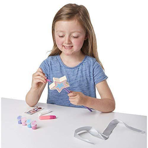 "<p><strong>Melissa & Doug</strong></p><p>amazon.com</p><p><strong>$5.99</strong></p><p><a href=""http://www.amazon.com/dp/B00S6UZUSS/?tag=syn-yahoo-20&ascsubtag=%5Bartid%7C10050.g.5114%5Bsrc%7Cyahoo-us"" rel=""nofollow noopener"" target=""_blank"" data-ylk=""slk:Shop Now"" class=""link rapid-noclick-resp"">Shop Now</a></p><p>Indulge your kids' imaginations <em>and</em> give them a fun rainy day activity with this DIY princess wand kit. It'll have them casting spells in no time.</p>"