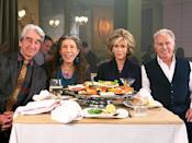 <p>These days, you can watch Fonda in the Netflix comedy <em>Grace and Frankie</em>, alongside Sam Waterson, Lily Tomlin and Martin Sheen. She's received three Screen Actors Guild Award nominations and one Emmy nomination for her work on the series. </p>