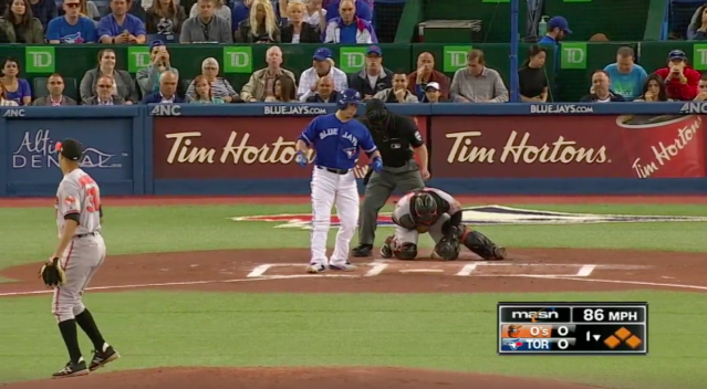 You have to feel for Welington Castillo after this one. (Screenshot via MLB.com)