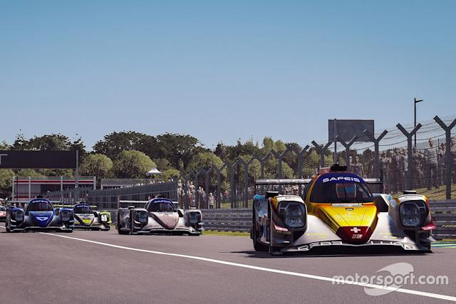 "#3 Rebellion Williams Esport Oreca 07 LMP2: Yifei Ye, Arthur Rougier, Isaac Price, Jack Keithley <span class=""copyright"">Xynamic </span>"