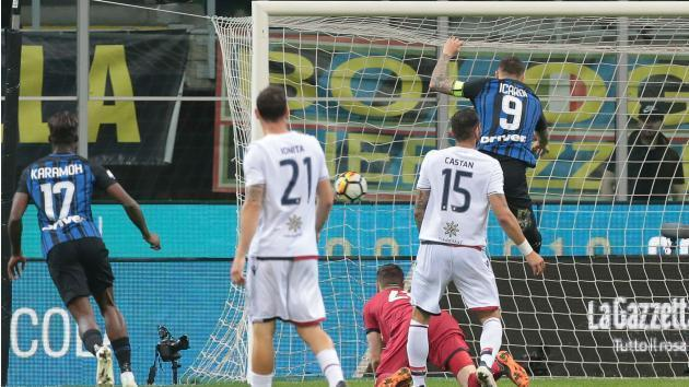 <p>Inter 4 Cagliari 0: Icardi shines as Nerazzurri climb to third</p>