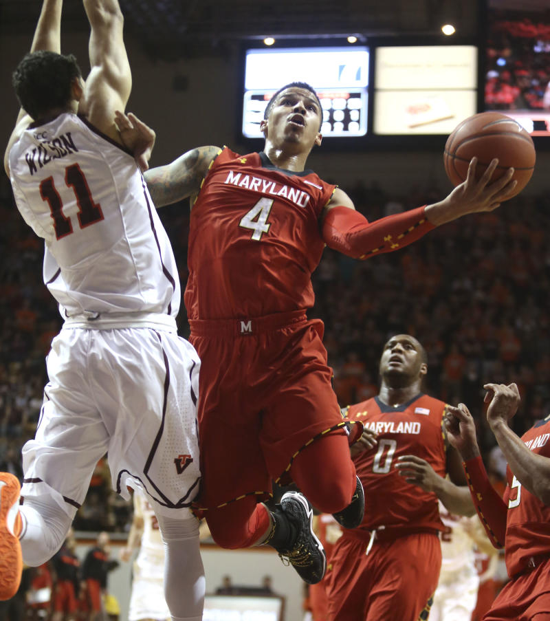 Wells leads Maryland past Virginia Tech 80-60