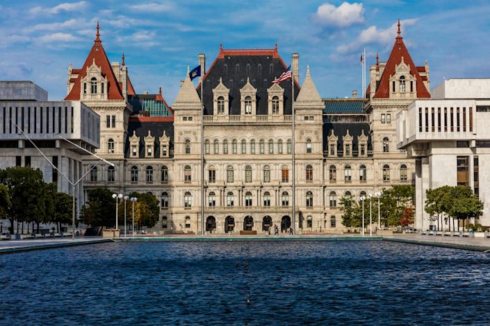 The New York State Capitol in Albany. Democrat Christine Pellegrino defeated Republican Thomas Gargiuloin a special election in a district won by President Donald Trump. (Photo: Visions of America via Getty Images)