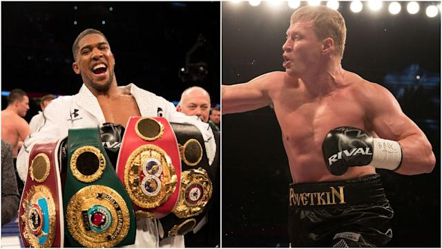 "A fight between Anthony Joshua and WBA mandatory challenger Alexander Povetkin ""has to happen"", according to the Russian's promoter."