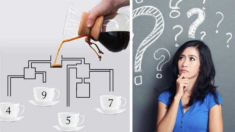 <p>Can you figure out this confusing coffee puzzle?</p>