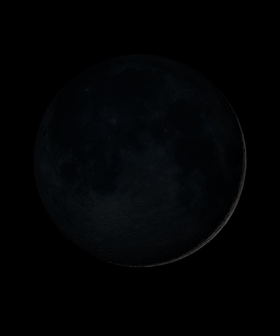 """<h2>New Moon</h2> <br>The new moon is a time of reflection, explains Arriana. During new moons, you should lean into the energy by reassessing your options, or reviewing your plans for the next few weeks, months, or even years.<br><br>If you were born on a new moon, you may tend to avoid the spotlight. """"There is always a great deal of activity around those born on this moon phase, but like the seed that is planted under the ground, others may not know about it,"""" explains Hale.<br><br>""""These individuals are drawn toward many new beginnings as opposed to endings, and they often make intuitive decisions,"""" she continues. New moon-ers can often be emotionally confused and swayed by others. Hale also notes that those born on a new moon are slower to find a life partner than someone born on a full moon. They may be on the more thoughtful end of the spectrum when it comes to love, holding out for a perfect match.<br><span class=""""copyright"""">Photo: Courtesy of NASA/Goddard Space Flight Center.</span><br><br><br><br><br><br>"""