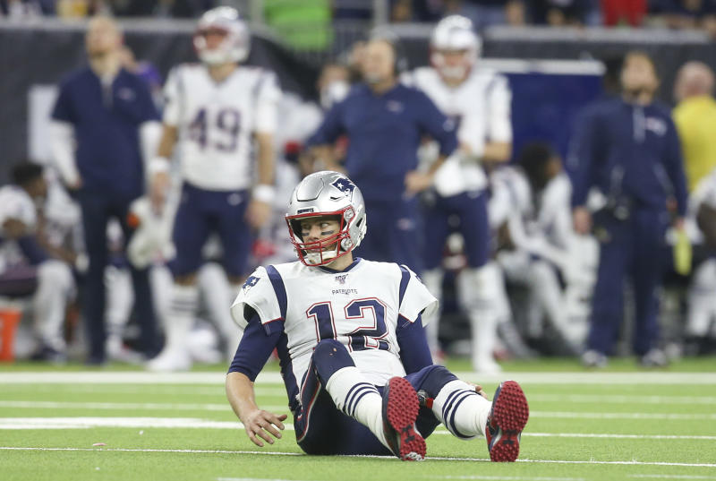 Tom Brady and the offense have been the driving force behind the Patriots' recent Super Bowl titles, but something's off right now. (Thomas B. Shea-USA TODAY Sports)